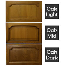 RECLAIMED SOLID OAK CATHEDRAL KITCHEN DOORS DRAWERS WOOD CUPBOARD CABINET UNIT