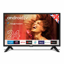 "Cello 24"" Inch HD Ready LED Smart Android TV with Google Assistant and Freeview"