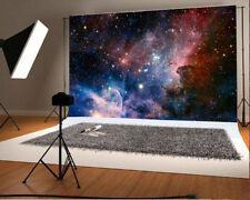 Vinyl Dreamy Space Nebula Stars Photography 7x5ft Backgrounds Photo Backdrops