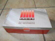 Chaussures de sécurité Ergos Taille 40 Neuves