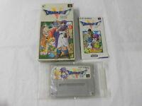 Y2728 Nintendo Super Famicom Dragon Quest V DQ 5 Japan SFC SNES w/box