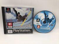 Snowboarding MTV Sports (11+) Playstation 1 PS1 Black Label Fast Dispatch!