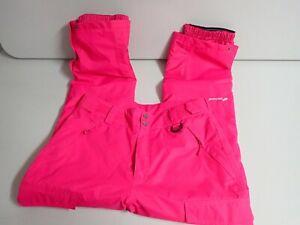 FREE SOLDIER Women's Outdoor Waterproof Windproof Snow Ski Pants L Pink NWOT