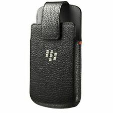 New Genuine OEM ACC-60088-001 Leather Holster Belt Clip Case BlackBerry Classic