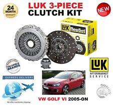 for VW GOLF VI + PLUS 1.6 2.0 TDI + 16V 4motion 2005-On Kit frizione Luk 3 pezzi