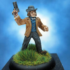 John Rivers painted miniature, Steampunk Steve Jackson Games.
