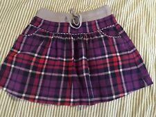 Mini Boden Girl Flannel Plaid Skirt 7 8 years