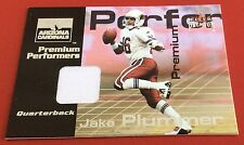 2001 Fleer Football Jake Plummer Jersey Patch Card 045/900
