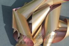 """Antique gold"" transfer nail art foil - 1 meter"