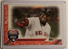2017 TOPPS UPDATE STORIED WORLD SERIES SP 2004 BOSTON RED SOX NO. SWS-8 208/250