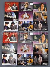 Star Trek Next Generation Episode Collection Season 4 Trading Card Promo Sheets
