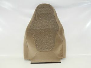 New OEM 1998-2000 Ford Expedition Front Seat Back Rest Cover Beige Cloth