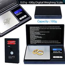 Pequeña Mini Pocket Digital Electrónico Pesaje Escala De Peso 0.01g -100 Gr ukstock