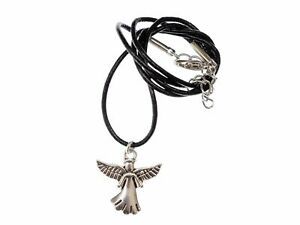 Angel Necklace Miniblings Charm Christmas Guardian Angel Archangel Leather