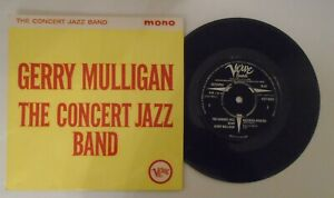 Gerry Mulligan,The Concert Jazz Band.Rare 1960 Jazz EP.Verve,VEP 5002.Near Mint.