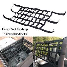 For Jeep Wrangler JK TJ 1x Cargo Net Back Window Extra Storage Roof Net Hammock