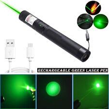 Green Laser Pen USB Charging Flashlight Laser Pen Laser Pointers Mini Torch