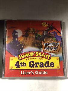 Jump Start Adventures  Haunted Island   CD 4th Grade  Rare