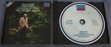 MAHLER SYMPHONY 1 Solti DECCA Germany PDO FULL SILVER NO IFPI 03 MATRIX