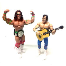 "WWF WWE Wrestling Legends ULTIMATE WARRIOR &  HONKY TONK MAN 6"" toy figures"