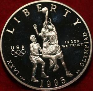 Uncirculated 1995 XXVI Olympiad Comm Clad Half Dollar