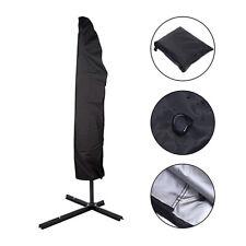 205cm Housse de Protection pour Parasol Déporté Imperméable Résistant à UV