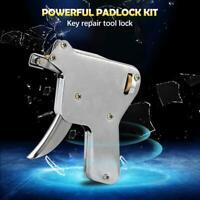Locksmith Repair lock Toolkit Portal Machine Hand 4 Pick Blades+1 Tension Wrench