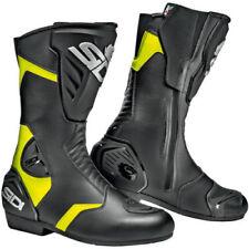 Stivali neri per motociclista Numero 43 Materiale 100 % Pelle