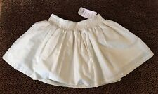 NWT Toddler Girl's  3T Carter's Gold Metallic Accented Skirt Elastic $28 Party