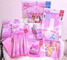 (New ) Hallmark Birthday Party Set - Princess  (8 people )