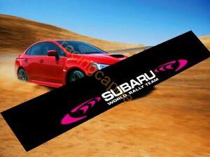 World Rally Sun Strip Visor Windshield banner Decal Sticker for wrc 555 wrx gc8
