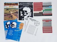 XTR Command Magazine Strategy Game 48 Tomorrow The World Japan Germany Unpunched