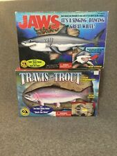 Jaws / Travis Trout Motion Activated Singing Dancing Big Mouth Billy Bass Gemmy
