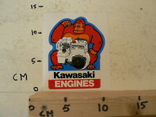 STICKER,DECAL KAWASAKI ENGINES FA210D  STATIONAIRE MOTOR ? GENERATOR ? GORILLA