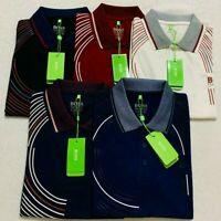 """NWT Hugo Boss Men's Polo T-Shirt Short Sleeves PICK YOUR SIZE/DESIGN"""