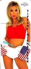 2002 BENCHWARMER BOX TOPPER #6: TIFFANY RICHARDSON - TRI-FOLD JUMBO CARD