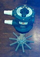 Hayward VARI-Flo XL MULTIPORTA Valvola filtro a sabbia SP714 buone condizioni