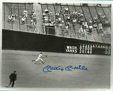 Mickey Mantle NY Yankee Autographed 8x10 Photo