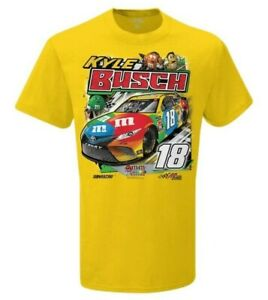 Kyle Busch #18 M-Ms Youth Power 2020 Drivers T-Shirt