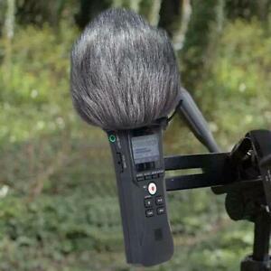 Furry Windscreen Muff Cover Foam Filter Microphone Windproof Cover for Zoom H1