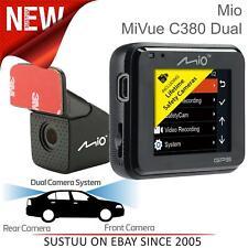 "Mio Mivue C380 Dual 2"" Car GPS Dash Camera│A30 Rear Cam│1080p Full HD│Night Mode"