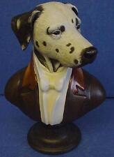 GOEBEL THIERRY PONCELET ARISTO DOG PORCELAIN BUST - THE DUKE OF DALMATIA