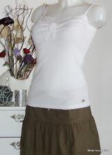 Velvet Kitten Pure White Top S 36 Spitze weiß Bluse blouse Ripshirt Rip