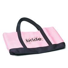 pink bride tote bride wedding shower gift bridal planning bag