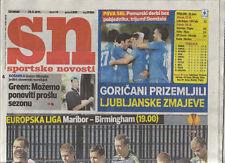 Orig.PRG   Europa League 11/12     29.09.2011    NK Maribor - BIRMINGHAM CITY FC