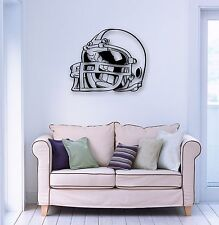 Wall Stickers Vinyl Decal American Football Helmet Player for Fans (ig730)