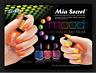 Mia Secret Mood Nail Lacquer Color Changing Nail Polish Set of 6 Brand New