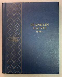 1948-1963 Complete 35 Coin Franklin Half Dollar Set Complete Set! Fine to BU!