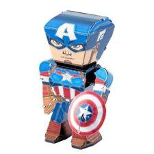 Captain America Marvel Metal Earth Legends 3D Model Kit FASCINATIONS