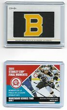 2020-21 O-PEE-CHEE # 336 BOSTON BRUINS TEAM LOGO PATCH UPDATE